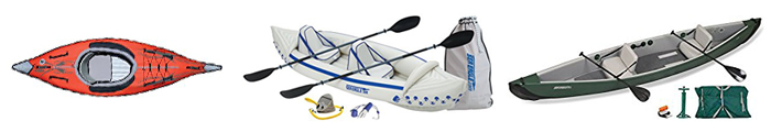 Main Types of Kayaks