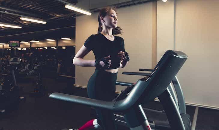 Treadmill weight