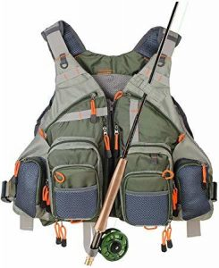 Kylebooker Fly Fishing Vest Pack Adjustable
