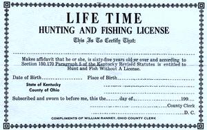 Fishing License Ohio