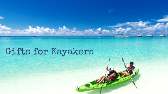 kayakers at beach