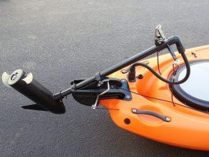 trolling motor kayak