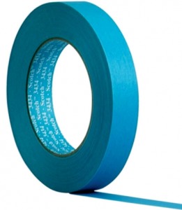 3M Scotch Water Resistant Blue Automotive Masking Tape
