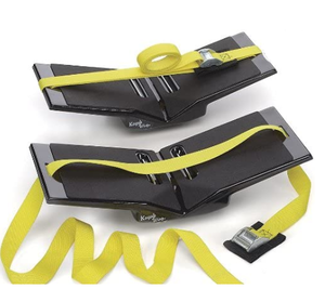 Kayak Wing - Sea Kayak Rack with Yellow Straps