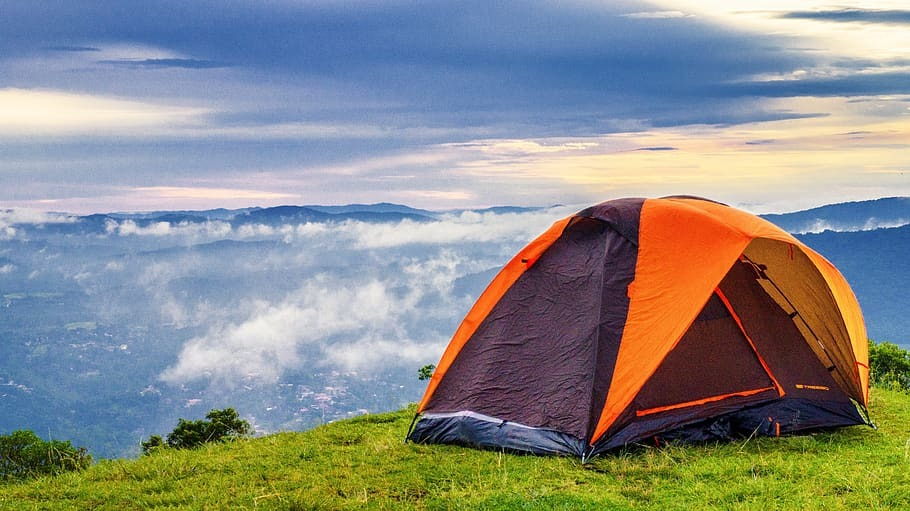 four person camping tent