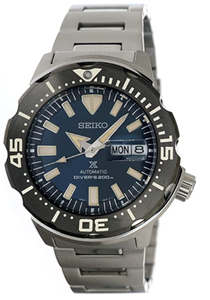 SEIKO Prospex Monster Diver's 200M Automatic Blue Dial Watch SRPD25K1