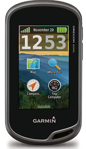 Garmin Oregon 600t 3-Inch Worldwide Handheld GPS with Topographic Maps
