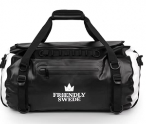 The Friendly Swede Waterproof Duffel Bag Backpack