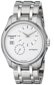 Tissot Men's T0354281103100 Couturier Analog Display Swiss Automatic Silver Watch
