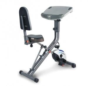 EXERPEUTIC EXERWORK 2000i Bluetooth Folding Exercise Desk Bike